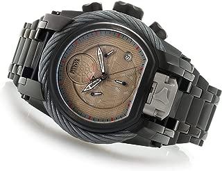 Reserve Star Wars Men's 52mm Bolt Zeus Magnum Ltd Ed Swiss Quartz Chronograph Bracelet Watch (Model: 26218)