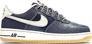 NIKE Air Force 1 Premium (GS) Obsidian/Gum/Lightbrown 748981-401