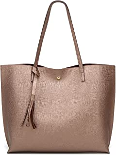 b792e6e1836fc Women s Soft Leather Tote Shoulder Bag from Dreubea