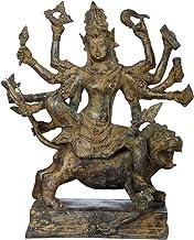 Goddess Durga - Brass Statue