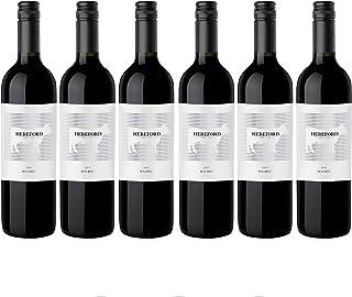 Hereford Malbec Rotwein veganer Wein trocken Argentinien 6 Flaschen