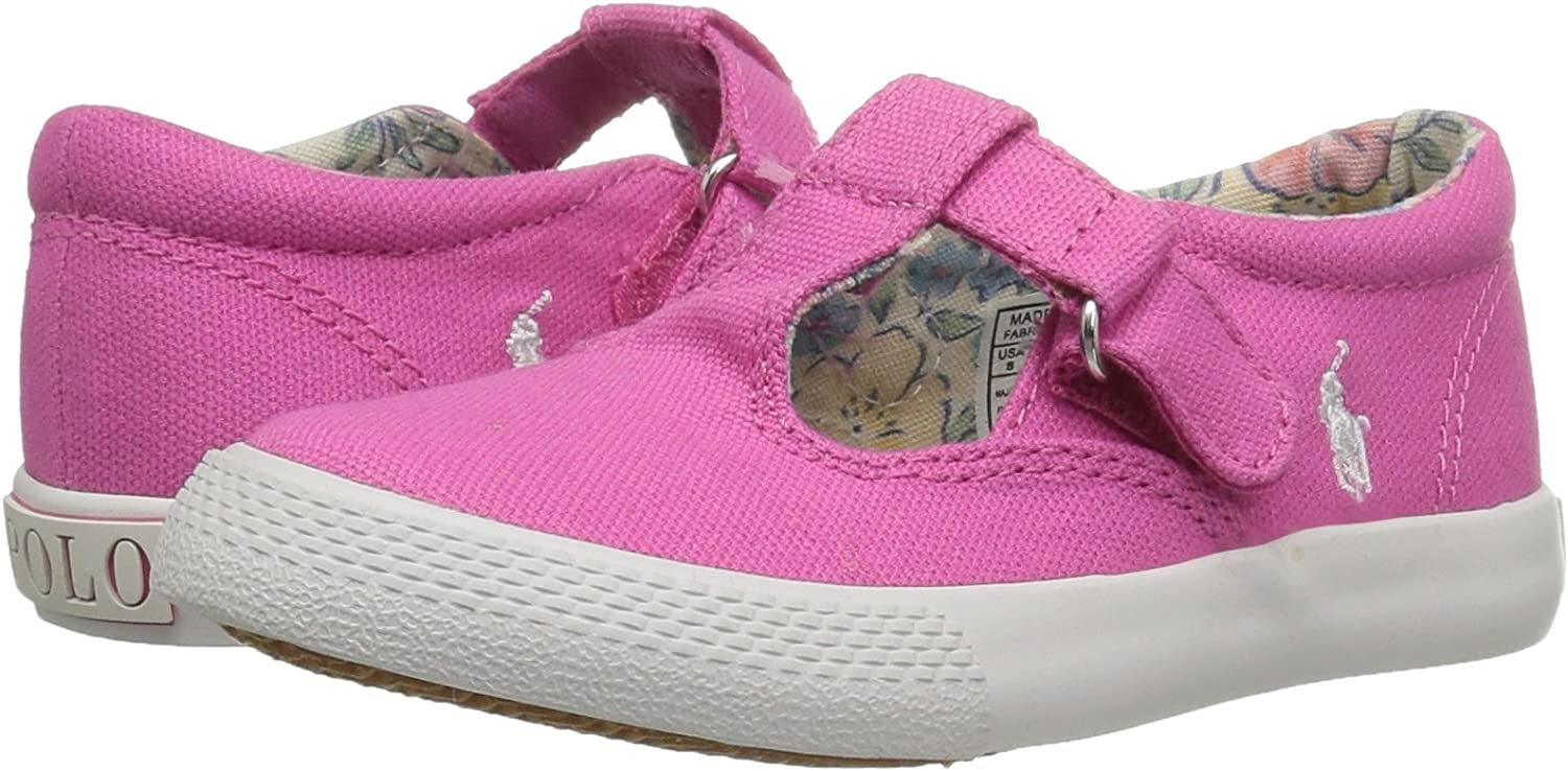 Polo Ralph Lauren Kids Unisex-Child Tabby T Sneaker