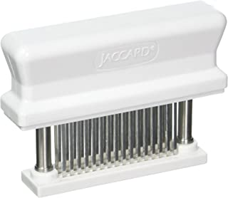 Jaccard 200348 48-Blade Meat Tenderizer, Original Super 3 Meat Tenderizer, 1.50 x 4.00 x 5.75 Inches, White