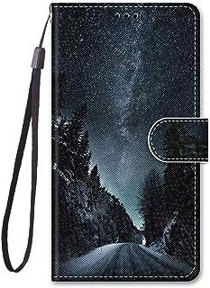 Miagon Helkroppsfodral för Huawei P Smart 2021, färgglatt mönsterdesign PU-läder flip plånbok fodral med magnetisk stängni...