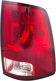 Passengers Taillight Tail Lamp Lens Unit Replacement for 09-10 Dodge Ram & 11-18 RAM Pickup Truck 55277414AF AutoAndArt