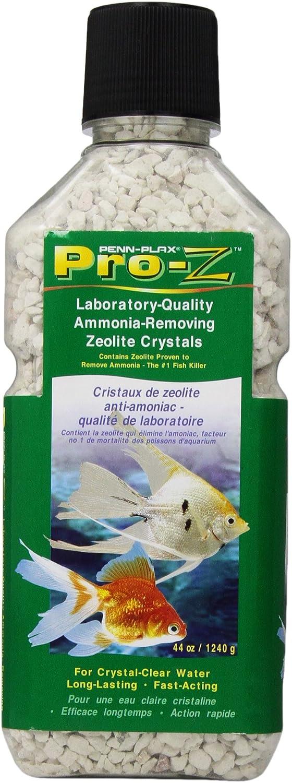 Penn Plax ProZ AmmoniaRemoving Zeolite Crystals for Aquarium, Medium