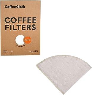 Wuyee 47g V60 sin blanquear Original Forma de Madera Cono Papel de la Gota Herramientas de caf/é Una Taza de caf/é de Filtro Tiempo de caf/é de Filtro de Papel Papeles de Filtro