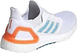 Footwear White/Sharp Blue/True Orange