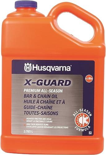 new arrival Husqvarna X-Guard lowest Premium All Season Bar & Chain Oil, 1 Gallon, grey 2021 (593272002) outlet online sale
