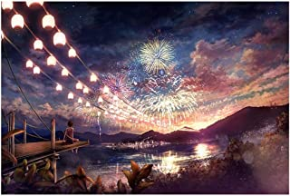 Sky Dream Fireworks- Jigsaw Puzzles 1000 Pieces for Adult