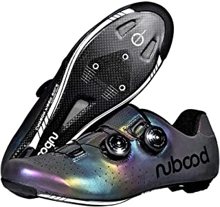 OneChange Road Cycling Shoes-Men Women Breathable Lock System Spinning Bike Shoes with Carbon Sole for Cycling Mountain Road Biking (Color : Multicolour, Size : 5.5 UK)