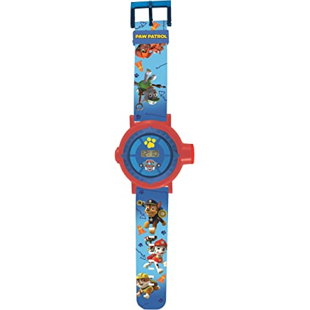 Patrulla Canina DMW050PA Paw Patrol Reloj Pulsera con proyector de Imagen (Lexibook, Color Azul, única
