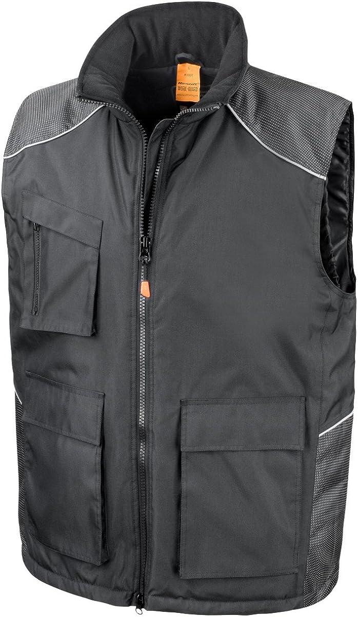 Result Unisex Work-Guard Vostex Bodywarmer/Gilet/Workwear