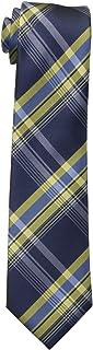 ربطة عنق للأولاد الكبار منقوشة من دوكرز Navy/Yellow قياس واحد