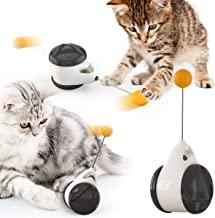 USWT Cat Toy Chaser, Balanced Cat Chasing Toy, Interactive Kitten Swing Toy