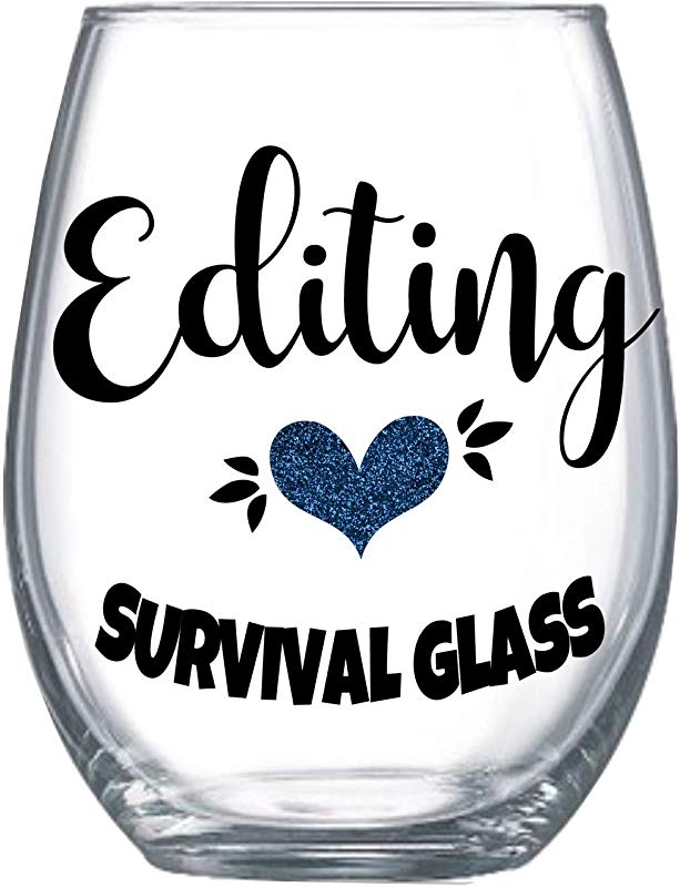 Funny Photography Gifts For Women Editor Gifts For Her Photographer Accessories Stemless Wine Glass 0163