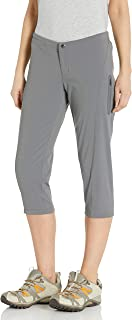Columbia Women's Plus Size Just Right II Capri, Water & Stain Resistant, City Grey, 18W