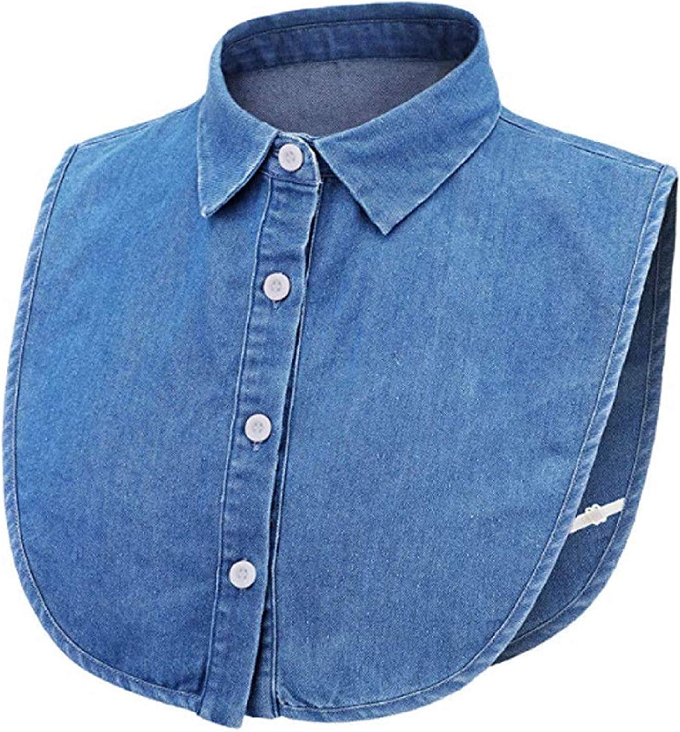 Classic Fake Collar Detachable Blouse Dickey Shirts Half Wome Genuine Free Shipping for