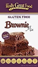 Really Great Food Company – Gluten Free Brownie Mix – 21 ounce box - No Nuts, Soy, Dairy, Eggs - Vegan, Kosher, Non-GMO and Plant Based