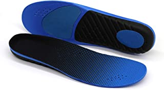 LASAR Shoe Inserts,Orthotics Insoles for Men Women Plantar Fasciitis Arch Support for Flat Feet, High Arch, Foot Pain(Men`...