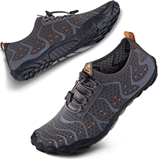 SEEKWAY Mens Womens Water Shoes Quick-Dry Aqua Sock Barefoot Athletic Sports Shoes for Outdoor Beach Swim surf Walking Div...