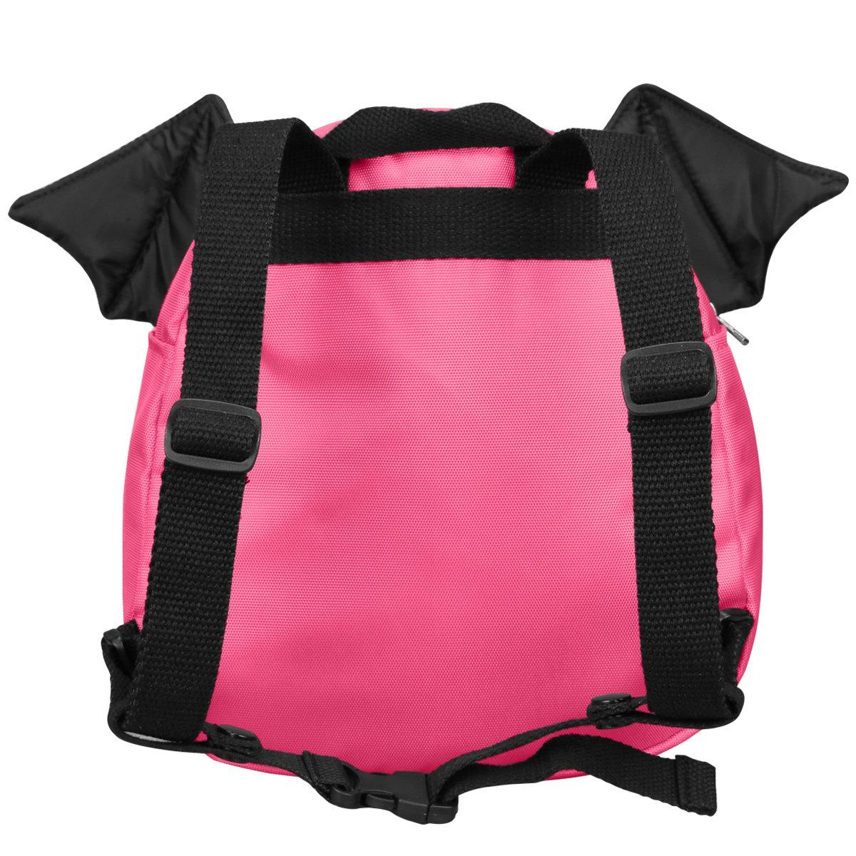 DEEKEY Toddler Girls Backpack PreSchool Bag Kindergarten Little Kids Age 2-7 (Rose Devil)