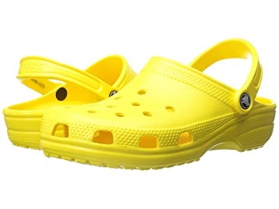 Crocs Classic Clog (Lemon) Clog Shoes