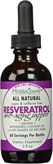 Herbasway Laboratories Red Wine Alternative with Resveratrol, 2 Fluid Ounce