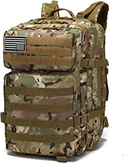 Backpack Outdoor 40L Big Capacity Tactical Backpack Waterproof Wearable Men Hiking Military Hunting Equipment Camping Back...