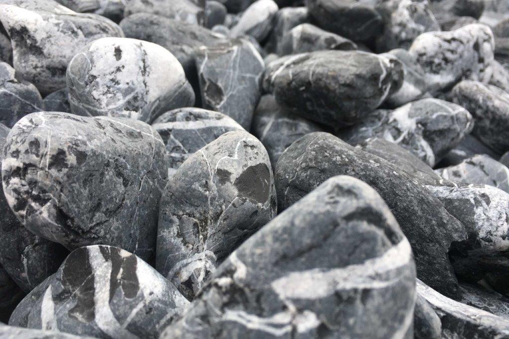 Velestone Canto rodado Negro Cebra 6-12 mm. (4000): Amazon.es: Jardín