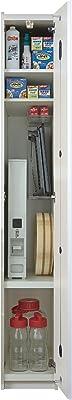 パモウナ 食器棚WL パールホワイト 幅29.9×高さ198×奥行50 日本製 WL-300
