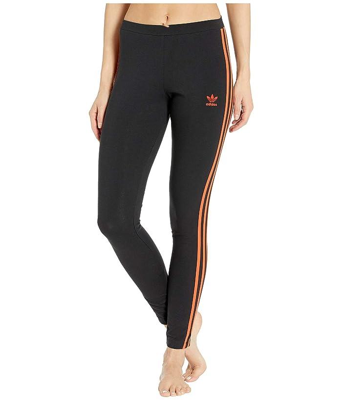 adidas Originals Tights (Craft Orange/Black) Women