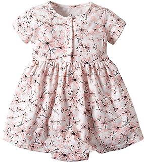 FeiliandaJJ Hat Outfits Set Clothes TM Baby Dress Toddler Kid Girls Plaid Printed Bow Princess Dress