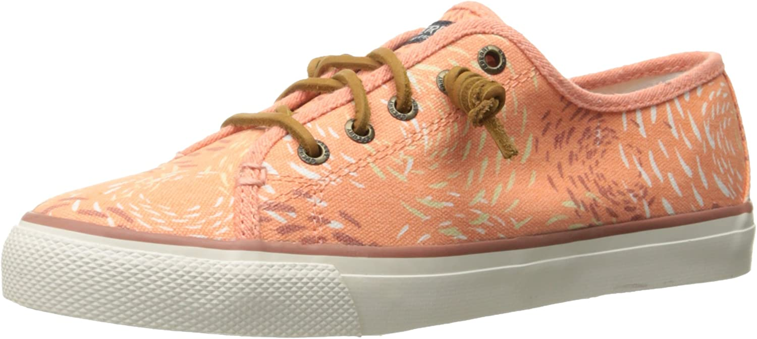 Sperry Top-Sider Women's Seacoast Fish Circle Fashion Sneaker Grey