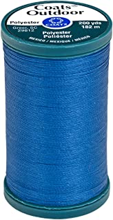Coats Outdoor Living Thread, 200-Yard, Monaco Blue