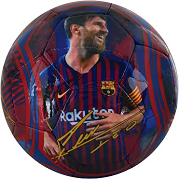 Leo Messi Balón de Fútbol F.C Barcelona: Amazon.es: Deportes y ...
