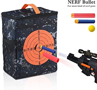TRADERPLUS Target Pouch Storage Carry Equipment Bag for Nerf Guns Darts N-Strike Elite/Mega/Rival Series