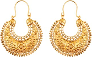 Best chandbali gold earrings india Reviews