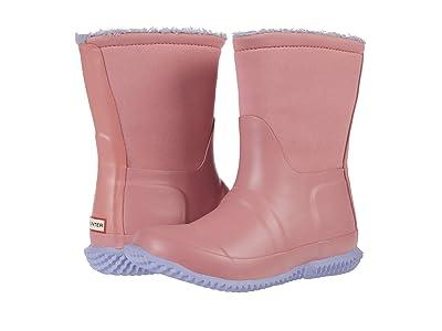 Hunter Kids Original Sherpa Boots (Little Kid/Big Kid) (Hibiscus Pink/Pulpit Purple) Girls Shoes