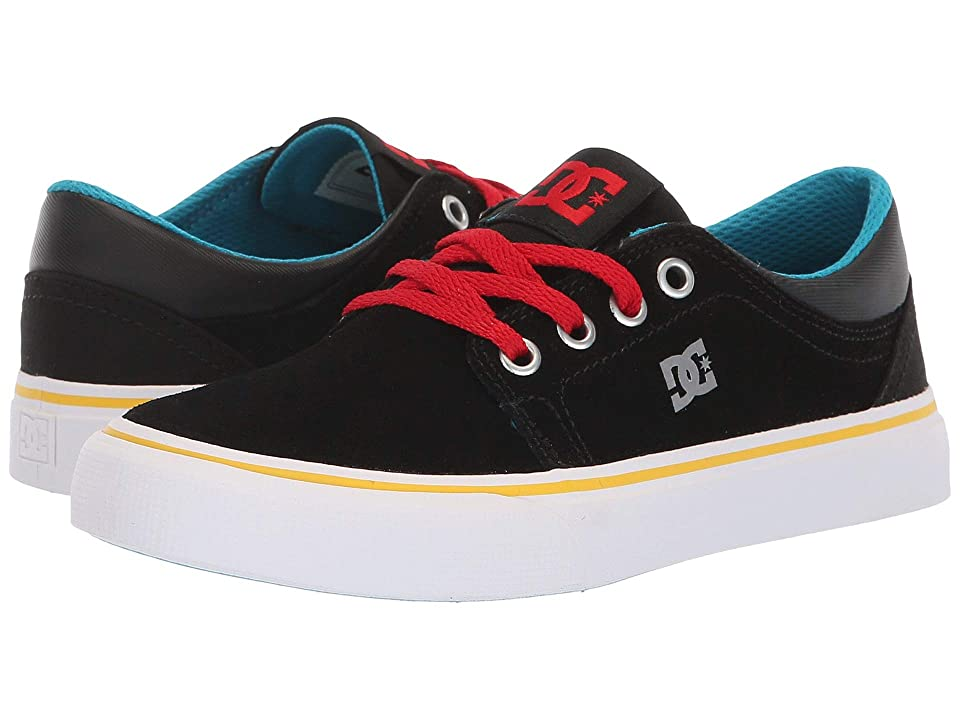 DC Kids Trase (Little Kid/Big Kid) (Black/Multi) Boys Shoes