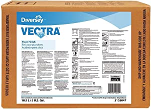 Diversey Vectra Floor Finish, 640 Oz