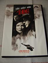 A jó német (2006) The Good German / George Clooney / Black and White / ENGLISH, CZECH and HUNGARIAN Audio / English, Czech, Greek, Hungarian and Romanian Subtitles [European DVD Region 2 PAL]