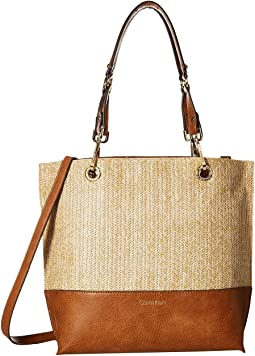 Sonoma Straw Novelty Tote