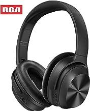 Active Noise Canceling Headphones, RCA Bluetooth 5.0 Headphones Over Ear Wireless..