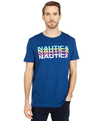 Nautica Fashion Tee (Blue) Men