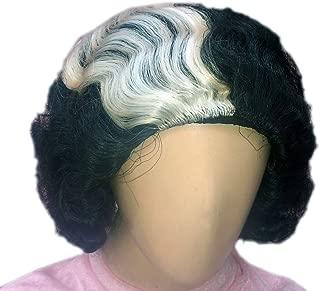 Kaku Fancy Dresses Indra Gandhi Short Hair Wig -Grey, Free Size, for Girls