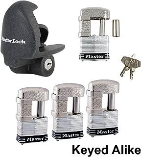 Master Lock - 5 Trailer Locks Keyed Alike 5KA-37937-37