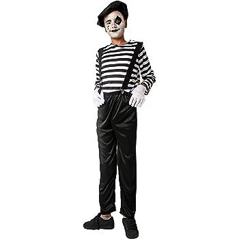 Costumizate! Disfraz de Mimo Talla 10-12 Especial para niños ...