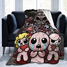 Midbeauty Binding of Isaac Soft Fleece Blanket Warm Ultra Micro Throw Blanket for Bed Couch Living Room 3 Size