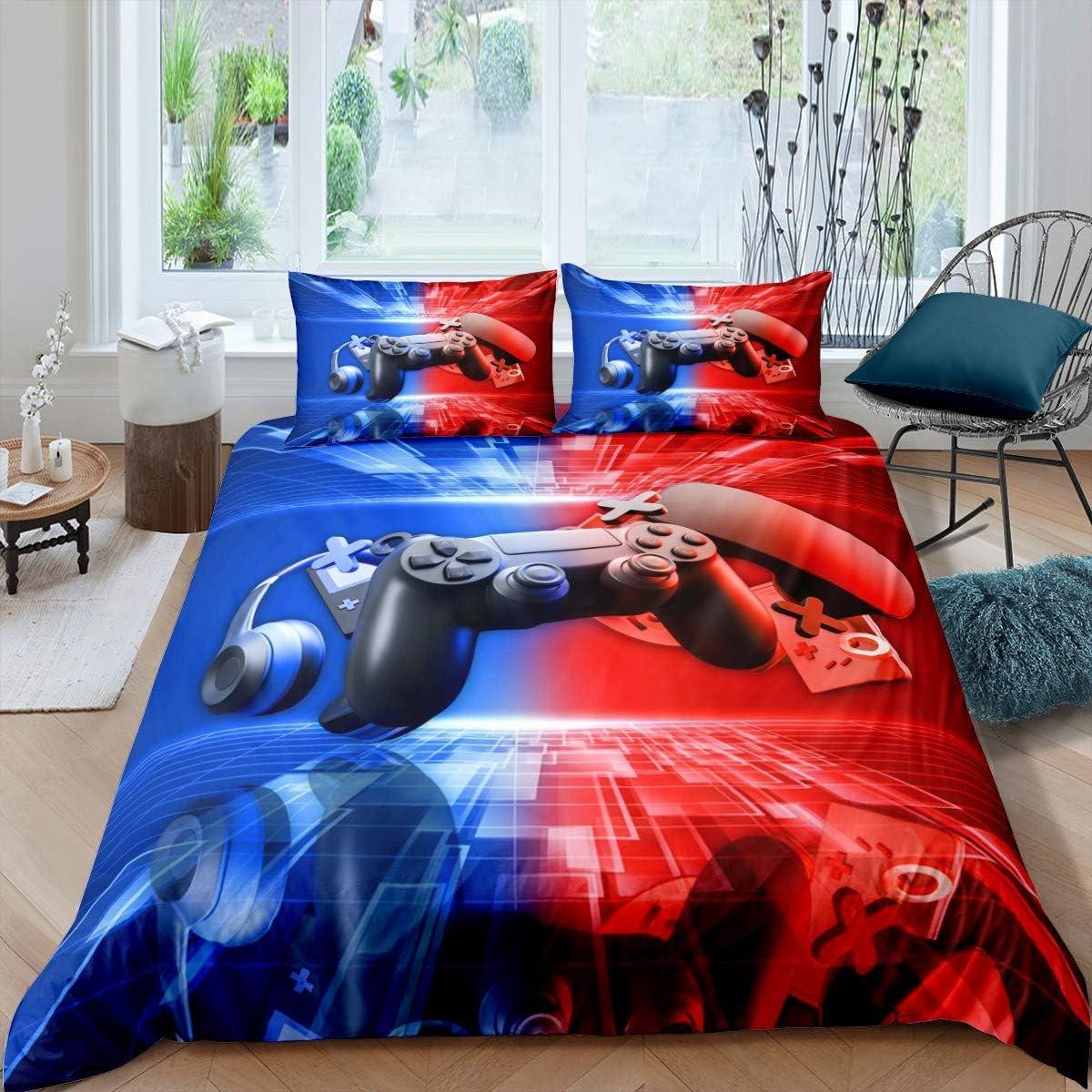 待望 Erosebridal Teen Gamepad Bedding Set Modern King Gami 『1年保証』 Size Gamer